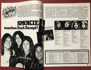 POP - Nr 8 1976 BEATLES omslag & med AFFISCH