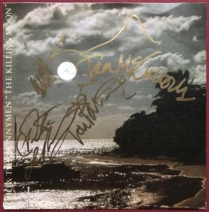 "ECHO & BUNNYMEN - The killing moon SIGNERAD Tysk-orig 7"" 1983"