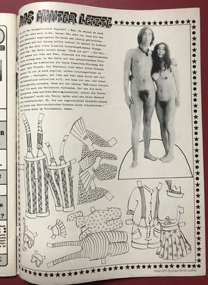 POP - Nr 13/14 1976 KISS/Gene / SWEET Andy omslag