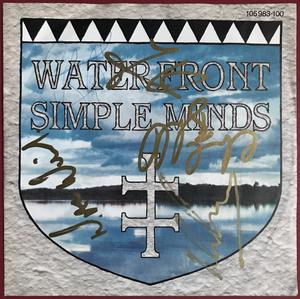 "SIMPLE MINDS - On the waterfront SIGNERAD Tysk-orig 7"" 1983"