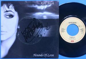 "KATE BUSH - Hounds of love SIGNERAD Holland-orig 7"" 1986"