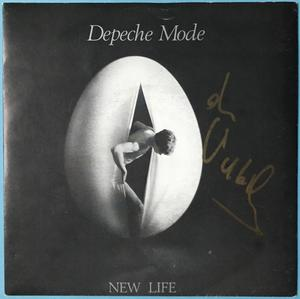 "DEPECHE MODE - New life SIGNERAD Vince Clarke UK-orig 7"" 1981"