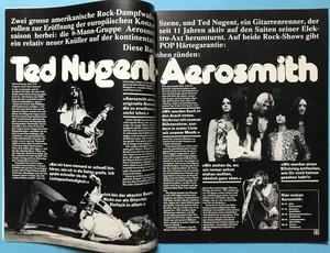 POP - Nr 19 1976 Britt & Rod omslag & med AFFISCH