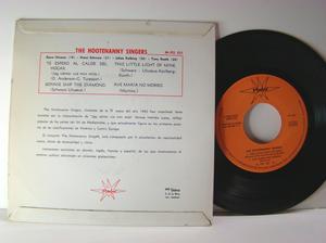 HOOTENANNY SINGERS - Björn Ulvaeus (ABBA) Jag väntar vid min mila 1:a Spansk EP 1964
