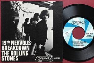 ROLLING STONES - 19th nervous breakdown  USA PS 1966