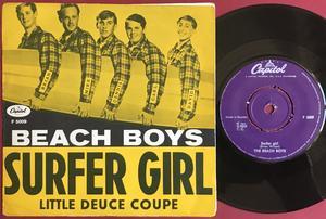 BEACH BOYS - Surfer girl Swe PS 1963