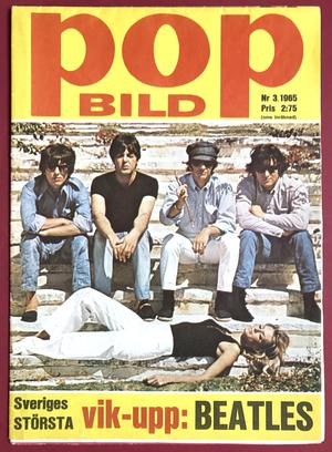 BEATLES - POPBILD no 3 1965