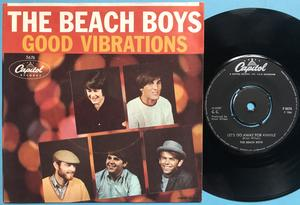 BEACH BOYS - Good vibrations USA/Swe PS 45 1967
