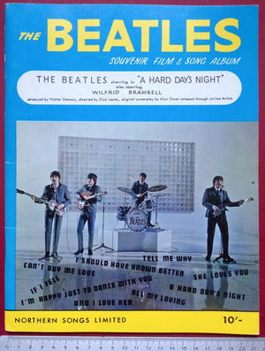 BEATLES - A hard day´s night Souvenir film & song album 1964