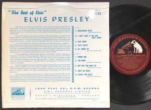 """ELVIS PRESLEY - Best of UK-orig 10"""" LP 1957"""