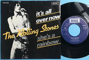 ROLLING STONES - She´s a rainbow / It´s all over now Holland PS 1976