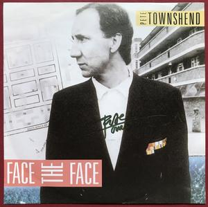 "PETE TOWNSHEND (The WHO) - Face the face SIGNED 7"" 1985"