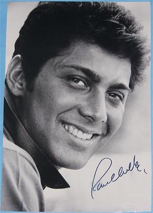 PAUL ANKA - Autograf på FOTO 1960-tal