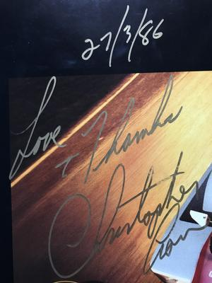 CHRISTOPHER CROSS - Every turn of the world SIGNED LP 1985