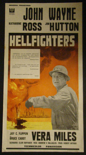 HELLFIGHTERS (JOHN WAYNE)