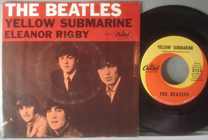 "BEATLES - Yellow Submarine 7"" US 1966 PS"