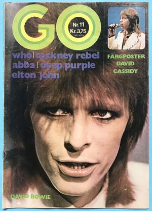 GO magazine - No 11 1974 DAVID BOWIE cover