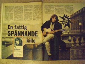 BILDJOURNALEN no 47 1965 Ola & the Janglers
