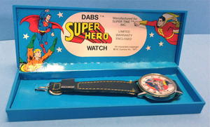 BATMAN - Wristwatch in box USA 1977