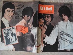 BILDJOURNALEN nr 26 1964 ROLLING STONES omslag