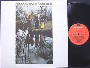 GIMMICKS of Sweden 1972 bossanova/samba/latin LP