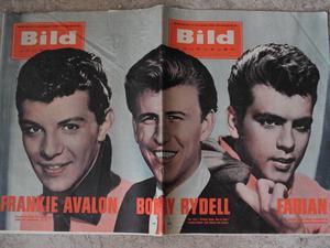 Bildjournalen no 42 1961 Fabian / Frankie Avalon