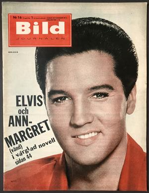 BILDJOURNALEN - no 16 1964 ELVIS / Ann Margret cover