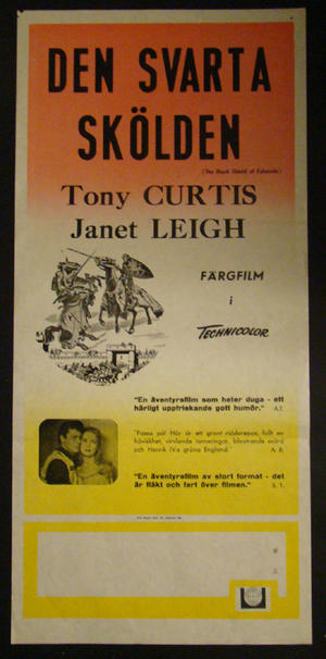 THE BLACK SHIELD OF FALWORTH (TONY CURTIS, JANET LEIGH)