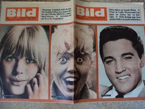 Bildjournalen no 31 1965 Elvis/Marianne Faithfull