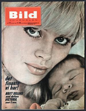 BILDJOURNALEN - nr 11 1965 Britt Ekland omslag