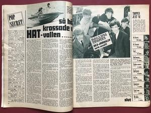 BILDJOURNALEN - no 13 1965 JOHNNY HALLYDAY cover