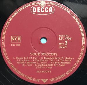 MASCOTS - Your Mascots Ger-orig LP 1965