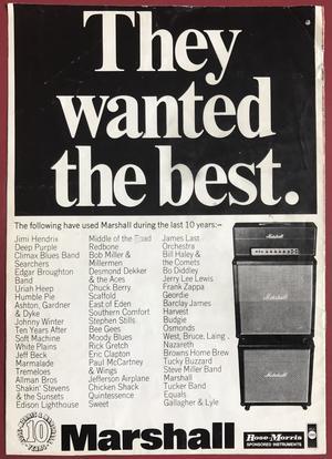 HAWKWIND - Turné program 1974