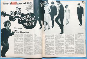 BILDJOURNALEN - 38 nr 1964 BEATLES helomslag
