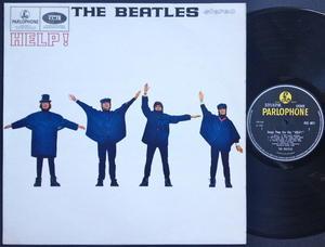 BEATLES - Help! Stereo UK LP 1965