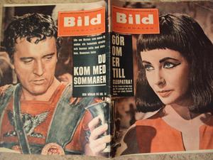 Bildjournalen no 13 1961 Liz Taylor/Cleopatra
