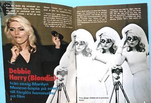OKEJ - No 3/4 1980 Blondie omslag