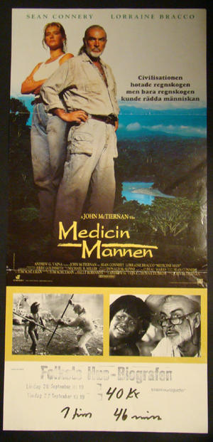 MEDICINE MAN (SEAN CONNERY)