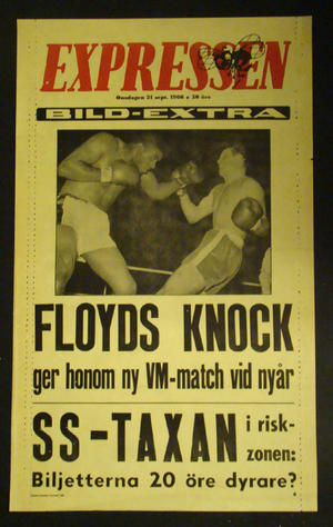 EXPRESSEN LÖPSEDEL FLOYDS KNOCK