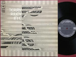 TERRY RILEY - In C US-orig SIGNED Autograph LP 1971