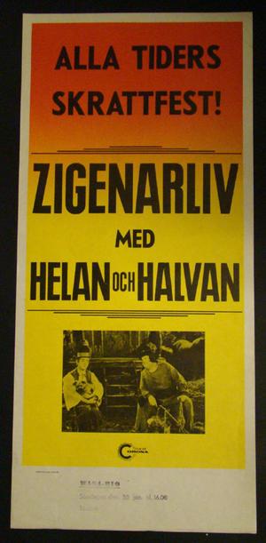 ZIGENARLIV (HELAN OCH HALVAN)