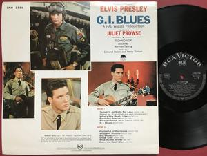 ELVIS PRESLEY - G.I. Blues Tysk LP 1960