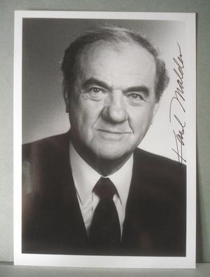 KARL MALDEN Äkta autograf på äkta foto !