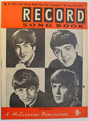 Record song book ( Beatles )