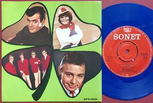 JERRY WILLIAMS / VIOLENTS / SUZIE / JAN ROHDE Swe EP 1964