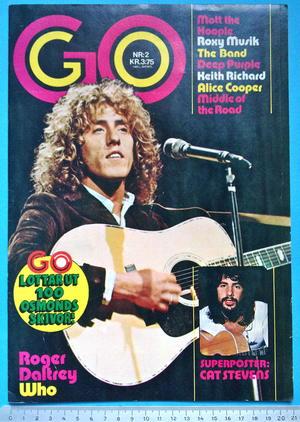 GO no 2 1973 ROGER DALTREY (Who) omslag
