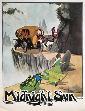 MIDNIGHT SUN (ca 1971-72) LP Promoaffisch