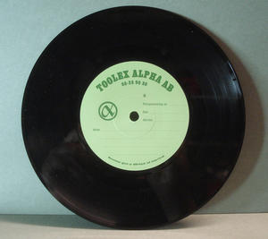 "ABBA - Super trouper 7"" RARE TESTPRESS!"