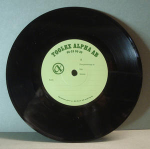 "ABBA - Super trouper 7"" RARE TESTPRESS!"