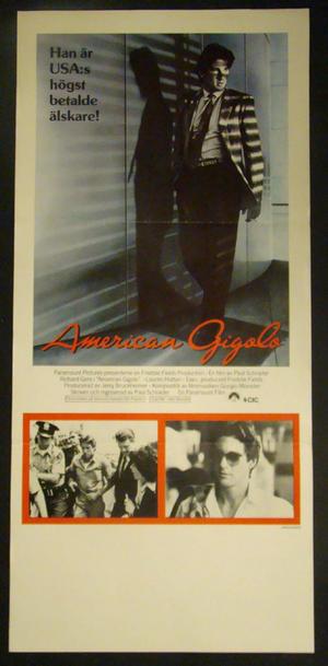 AMERICAN GIGOLO (RICHARD GERE, LAUREN HUTTON)